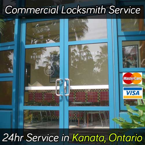 Commercial locksmith & door repair services