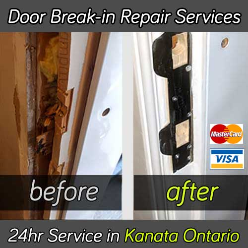 Door break-in repair services