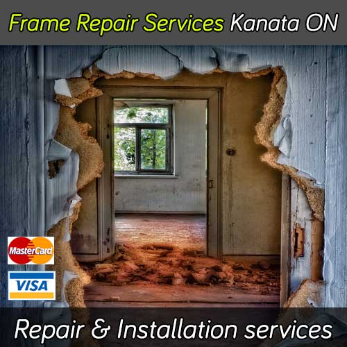 Door frame repair services